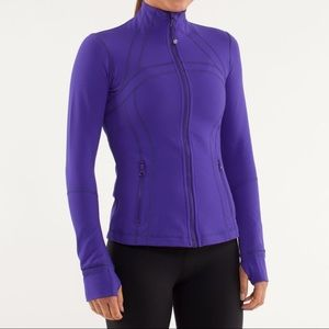 Lululemon define purple jacket, size 4